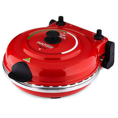 New Wave Pizza Maker Red