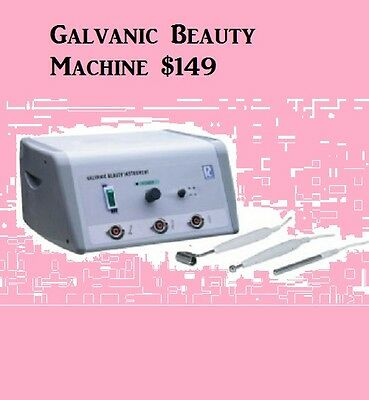 Galvanic Beauty Machine Salon and Spa Facials Equiptment Facial For Sale Skin