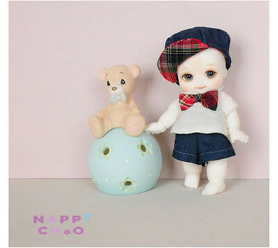 1/8 Bjd Doll SD Nappy Choo (CW) Free face make up+eyes