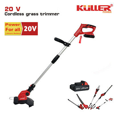 NEW 20V Cordless Lithium whipper snipper grass trimmer kit w/ battery & charger