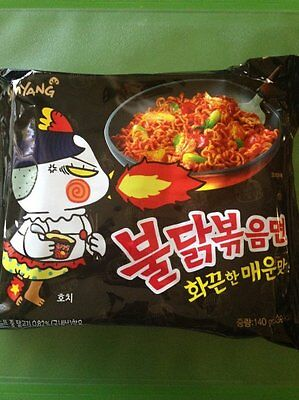 [Korean Noodle] Samyang Stir-fried Noodles with Hot and Spicy Chicken Ramen ?...