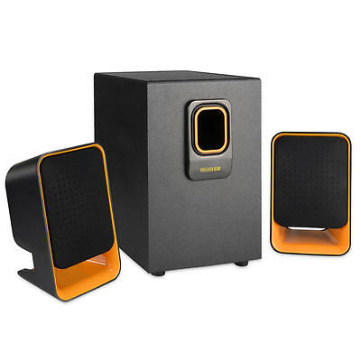 SELNON® Multimedia 2.1 Bluetooth Home Computer Speaker System with Subwoofer