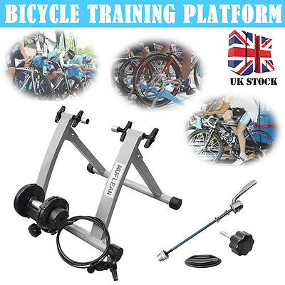 New Varispeed Turbo Cycle Trainer Indoor Exercise Bike Resistance Training