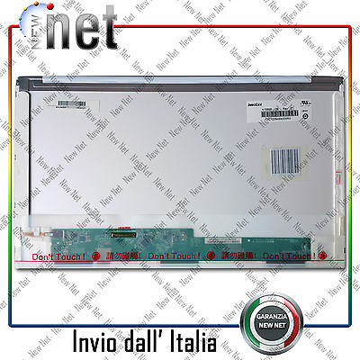 """DISPLAY LCD   15.6"""" ASUS A52D 1366x768 LED 40 PIN basso/sinistra 0797"""
