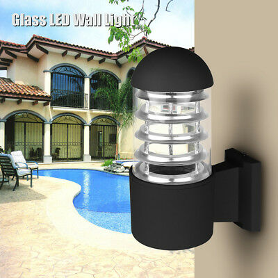 Waterprood Outdoor LED Wall Light Fixture Porch Patio Garden Wall Lamp Sconce