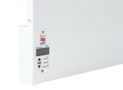SUNWAY Infrared Wall Heating Panel SWRE 700 with Clock Thermostat