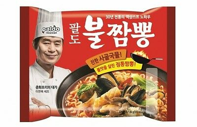 [Korean Noodle] Paldo Fire Spicy Seafood Noodle Soup Ramen ?? ? ??