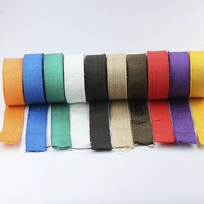 Neu 10m Heat Resistant Insulation Tape Band Motorcycle Exhaust Thermal Protector