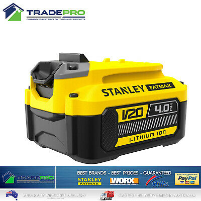 Stanley® Fatmax 18V 4.0Ah Li-Ion Battery Genuine FMC688L-XE Reachargable