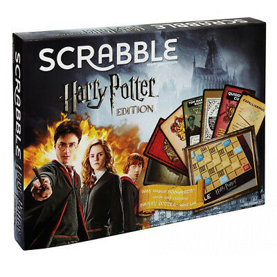 Harry Potter Scrabble Edition Board Game NEW
