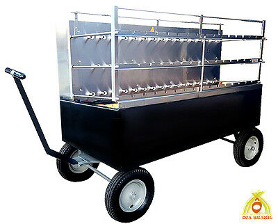 Brazilian Charcoal Grill 44 Skewers - Professional Grade - Catering Jumbo