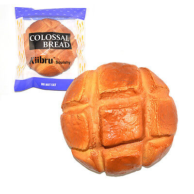 Exclusive Kiibru Colossal Pineapple Bread Squishy Super Slow Rising Scented Toy