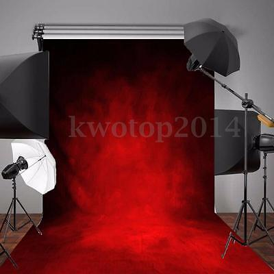 5x7FT Valentine's day Abstract Red Backdrop Photography Background Studio Prop