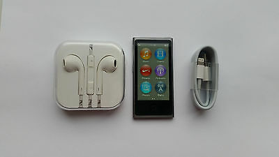 Apple iPod Nano 7th Gen Space Grey (16GB) Excellent Condition With Accessories