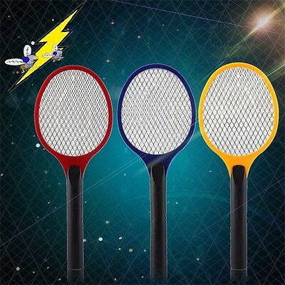 Hot Electric Practical Insect Pest Bug Fly Mosquito  Swatter Killer Racket F7