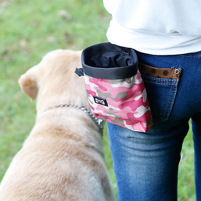 New Portable Dog Training Treat Bags Pet Feed Pocket Pouch Dog Snack Waist Bags