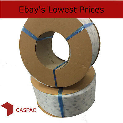 Polypropylene Strapping - 9 mm - White Pallet banding 4000 m - NEXT DAY DELIVERY