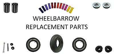 Wheelbarrow Replacement Parts Accessories Grips Axle Inner Tube Bushes Bearings