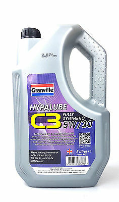 MANNOL OIL 5w30 5 Litres C3 Fully Synthetic Car Engine Oil GERMAN