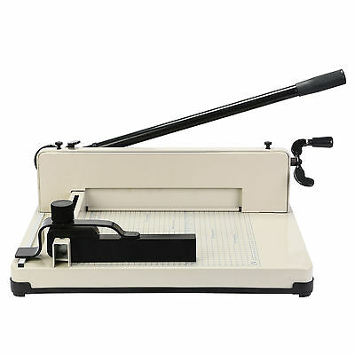 """New 12"""" Guillotine Cutting Machine Office Manual Stack Paper Cutter Heavy Duty"""