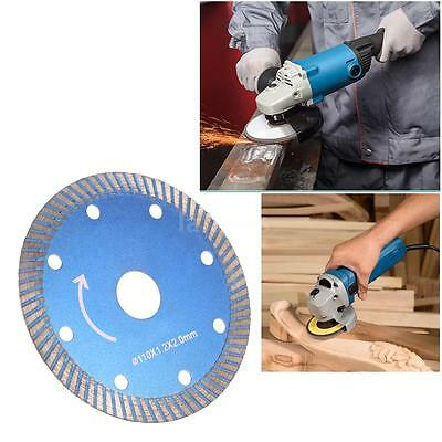 110*1.2*20mm Diamond Disc Saw Cutting Blade with 8 Holes 20mm Inner Grinder Q8M1