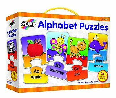 Educational Toy Alphabet Puzzles for Pre-School Kids Children Learn Read Letters