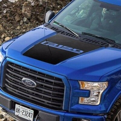 Ford F-150 2015-2018 hood graphics side stripe decal Ford Performance