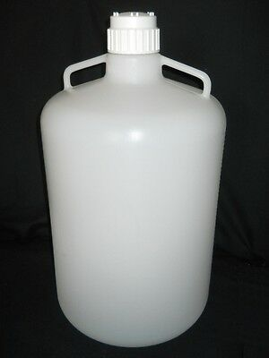 Nalgene 50L / 13 Gal Graduated LDPE Carboy with Handles & 83B Closure