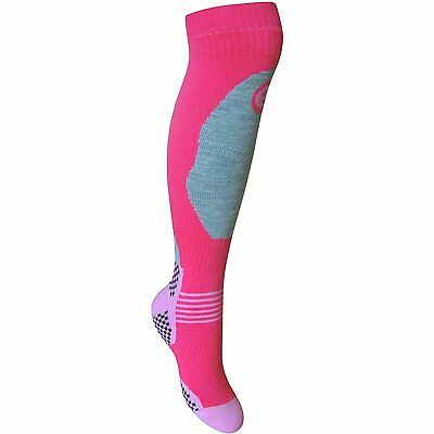 Kids Thermal High Performance Ski Socks & Extra Cushioning 2 Pair Pack