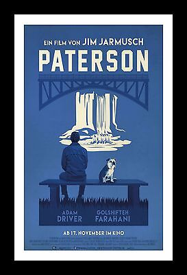 PATERSON  framed movie poster 11x17 Quality Wood Frame