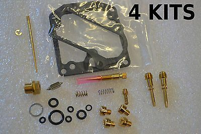 4x Kawasaki 77-78 KZ650 Carburetor Carb Rebuild Kit - 4 KITS