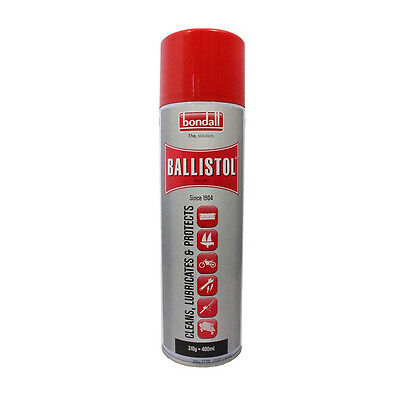 Bondall Ballistol Aerosol Lubricant Spray 200Ml Uses Marine Automotive Fishing