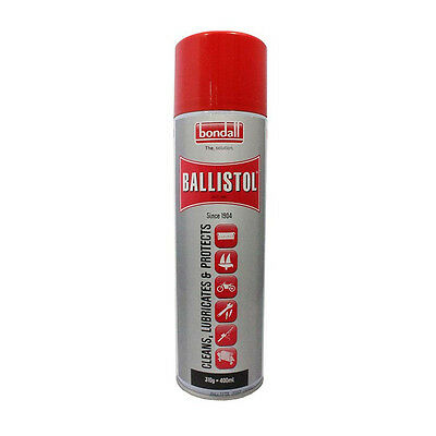 Bondall Ballistol Aerosol Lubricant Spray 400Ml Uses Marine Automotive Fishing