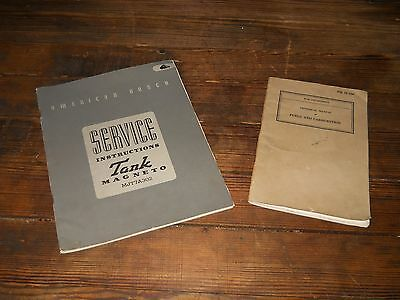 Vintage (2) WW2 Military Manuals