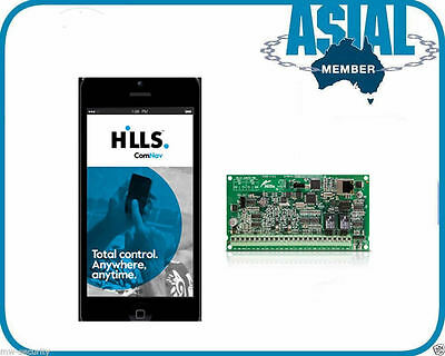 Hills Alarm Monitoring Module ComNav S2096A Remote Access via Mobile App