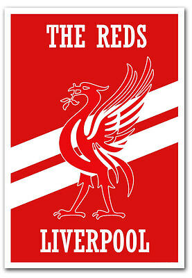 "The Reds Liverpool Fridge Magnet Size 2.5""x 3.5"""