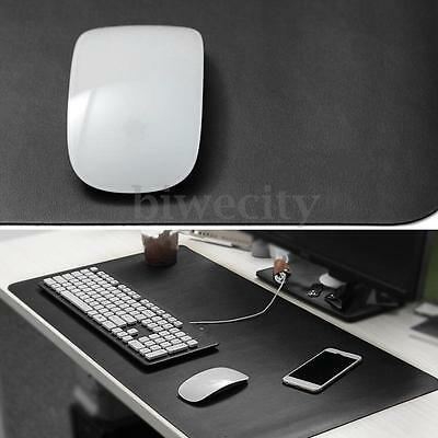 Large Size Microfiber Waterproof Leather PC Speed Gaming Mouse Mice Pad Desk Mat