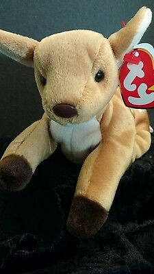 9342e1a7f58 TY RARE COLLECTIBLE Error BEANIE BABY WHISPER DEER SWING TAG 1997 TUSH TAG  1998
