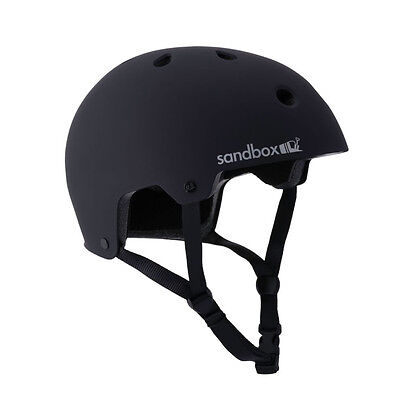 Sandbox Legend Street Skateboard Snowboard Helmet Black M L Mens Womens Skate
