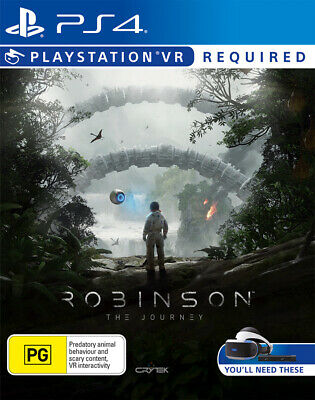 Robinson The Journey PlayStation VR, PS4 Game NEW