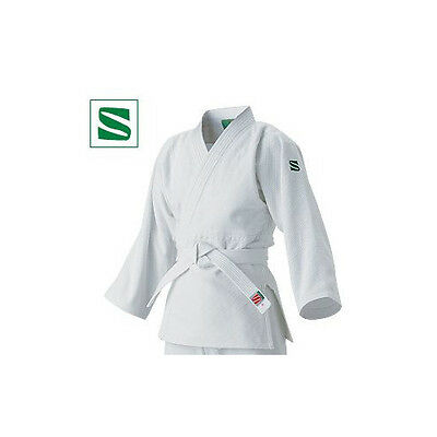 Kusakura Japan Judo gi wear YAMATONISHIKI only Jacket white JSY