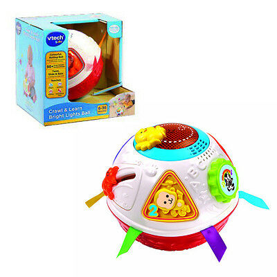 VTech Baby Crawl & Learn Bright Lights Ball Musical learning activity Toy