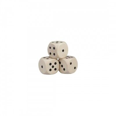Dice - 12mm - Wood - nature
