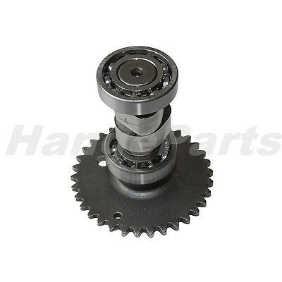 Camshaft Assembly Cam Shaft w/ 17T Sprocket for GY6 50 139QMB 50cc Scooter Moped