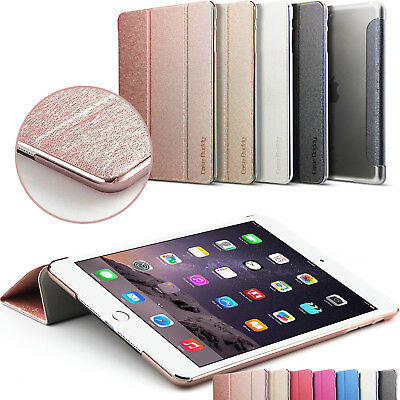 Leather Smart Case for New iPad 2017 Back Cover Magnetic iPad Mini Air 2 Pro 9.7