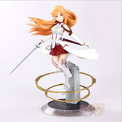 HOT Anime Sword Art Online Asuna Aincrad 1/8 Scale Figure Pre-painted Model Toy