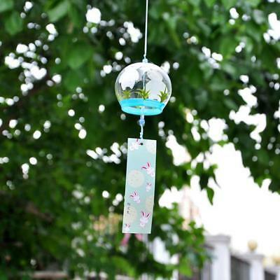 Vetro Furin Wind Chimes mobile Windchime Hanging Ornament Decor regalo