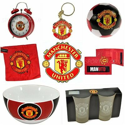 Manchester United Official Club Merchandise - Souvenirs Man Utd Football Present