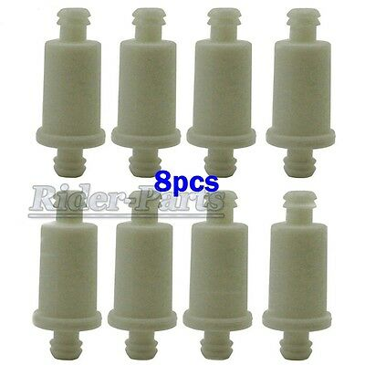 8x Snowmobile Inline Fuel Filter For Ski-Doo 07-246-05 Polairs 2530009 Oilfilter