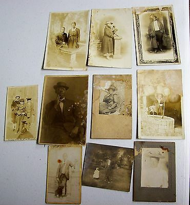 Antique Lot of Black Americana African American Photographs